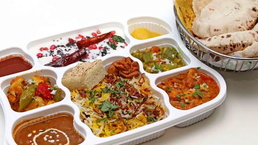 Online food orders in train