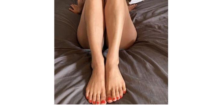 Lovia feet eva Eva Lovia